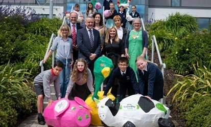 Colourful Primary School Sculpture Project at Fane Valley Head Office